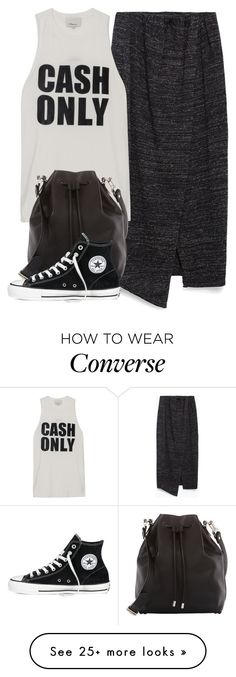 """*"" by biebersplayer on Polyvore featuring Zara, 3.1 Phillip Lim, Proenza Schouler and Converse"