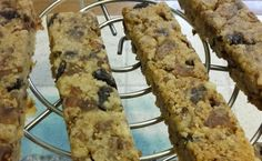 Recette de Cookies en barre - i-Cook'in Barre, Desserts, Food, Gourmet, Raisin, Tailgate Desserts, Deserts, Essen, Postres