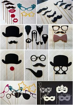 I did some of these for my wedding... how much fun were they!  Totally silly
