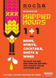 Mocha Happy Hours @ R City Mall, Ghatkopar, Mumbai