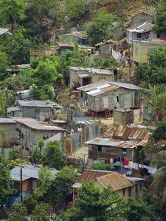 Image detail for -Shanty town, Montego Bay, Jamaica, West Indies, Caribbean… Montego Bay Jamaika, Kingston, Jamaica History, Jamaican Art, Bahamas, Paradise On Earth, Slums, West Indies, Abandoned Places