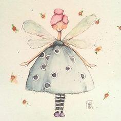 Creative fairy #danielledonaldson #creativegirlclass