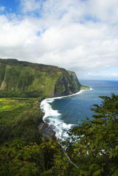 Waipio Valley Big Island Hawaii #travel