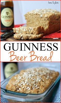 Guinness Beer Bread - Home & Plate.