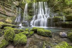 Cascade du Verneau - Fototapeter & Tapeter - Photowall