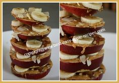 These healthy Apple Snacks for Kids are great recipe ideas for making healthy and fun fruit snacks for kids.