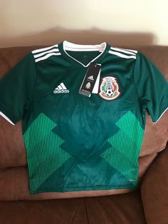 3474a3ba6ce Adidas Mexico National Team Soccer Jersey NWT Size Large Youth