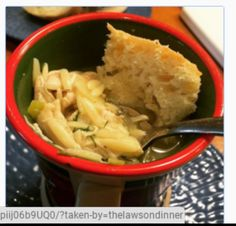 Lemony Chicken & Orzo Soup. Delicious and easy! Happy Cooking!