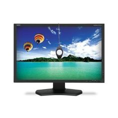 """NEC Display PA242W-BK-SV 24.1"""" Widescreen LED Monitor, 16:10, 8ms, 1920x1200, 340 Nit, 1000:1, DVI/HDMI/VGA/USB/DisplayPort. Designed to provide the most accurate colors available for your professional photography, video editing and prepress operations, The 24"""" PA242W features a cutting edge GB-R LED-backlight, an AH-IPS LCD panel and a 14-bit 3D LUT for accurate hardware calibration. Offering an precise 100% coverage of sRGB color gamut and 99.3% of Adobe RGB, the PA242W with Spectraview…"""