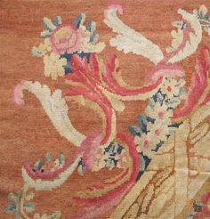 Antique Savonnerie Carpet - detail