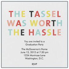Free printable graduation party invitations pinterest party the tassel graduation party invite stopboris Choice Image