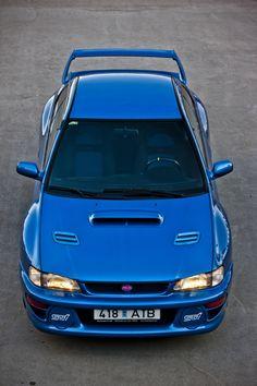 Subaru Impreza 22B STi RHD (GC8E2SD) '1998