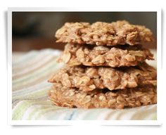This healthy oatmeal cookie recipe is crunchy and delicious, and perfect for dipping in milk, or alongside ice cream. I'm trying these tonight