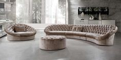 Cosmopolitan Sofa, Chair & Ottoman Set