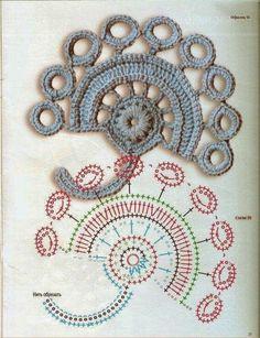 Artesanato com amor...by Lu Guimarães: Apliques em crochê