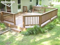 Low Elevation Deck Picture Gallery