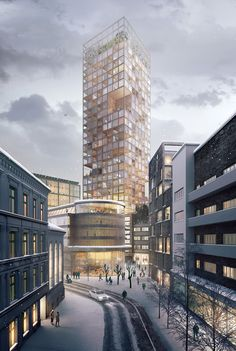 Gallery of Transborder Studio Wins Competition to Renovate Oslo Dairy Factory…