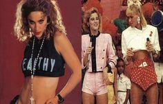 Os anos 80 foi uma década extremamente intensa e inovadora, principalmente em relação à moda lançando tendências para todos os cenários culturais. Estilos diferenciados foram criados e alguns recriados na moda atualmente. Algumas coleções de estilas famosas têm feito releituras da década de 80 em suas coleções recentes.
