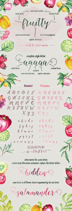 Octavia Script by AF Studio on @creativemarket