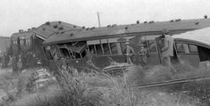 Heavy rains in 1917 caused washaway under the #railway tracks near #Gunyidi. In the middle of the night a train went over the unsupported tracks. The locomotive fell and its carriages collided into one another. Three people died and many more were injured. Surrounded by floodwaters they then had to wait 13 hours to be evacuated.