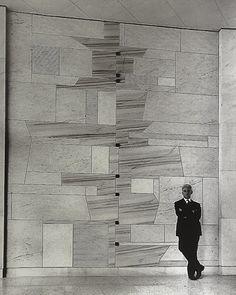 Bruno Munari – Mosaico di Corso Magenta 46, Milano, 1957
