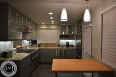 Great kitchen designed with a professional chef in mind. A clean stainless steel look to it.