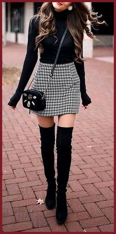 Are you looking for stylish and trendy outfits? Are you looking for stylish and trendy outfits? 1 online store for women outfits & accessories! We offer inexpensive and elegant. Cute Fall Outfits, Fall Winter Outfits, Winter Fashion, Casual Outfits, Work Outfits, Ladies Outfits, Winter Boots, Fall Outfit Ideas, Black Skirt Outfits