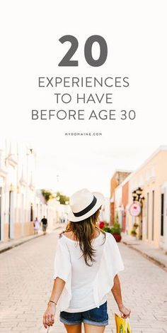 Things to Do Before You Turn 30 to Live Your Best Life 20 experiences to have before age experiences to have before age Age 30, Before I Die, Life Advice, Life Tips, Life Hacks, Life Goals, Travel Quotes, Live For Yourself, The Twenties