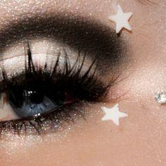 Black and White fantasy makeup