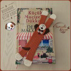 Samyelinin Örgüleri: Dog Bookmark / Köpek Kitap Ayracı