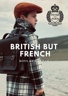 Collection Peter from Paris Tartan, Tweed, French Boys, Rive Gauche, Paris, Kids Fashion, Winter Hats, Lifestyle, Collection
