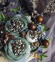 Текстильные украшения — настоящий плацдарм для творчества.