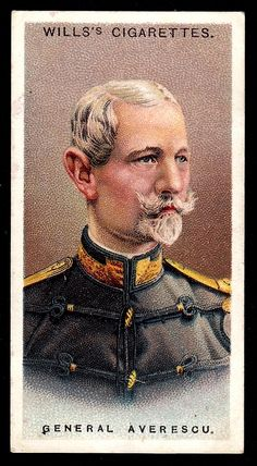 "Wills's Cigarettes ""Allied Army Leaders"" (set of 50 issued in General Averescu Cigarette Brands, Cigarette Box, Army Uniform, Military Uniforms, Arm Guard, Collector Cards, French Army, Imperial Russia, Popular Culture"