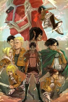 Attack On Titan, I love this show a little too much. Trust me, it's not just an anime... It's an obsession <3