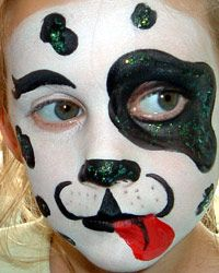 101 dalmation make up ideas | Dalmatians always go down well as a design, both with boys and girls ...