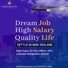 Working with an international company and leading an idol life is what Rajni Garg visa services help you with. Apply for a New Zealand work visa and leave all your visa related worries to us.  Just pack your bags and be ready to achieve what you have been dreaming.  To know more: +919873113624  #rajnigargvisa  #visaguide #newzealandvisa #workabroad #workvisa