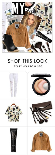 """MY Insider Style"" by mycherryblossom ❤ liked on Polyvore featuring MAC Cosmetics, Borghese, NARS Cosmetics, Thomsen Paris and Madewell"