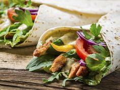 Tortilla plněná kuřecím masem - Recepty na každý den