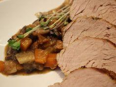 Szűzpecsenye erdei gombás raguval és mini lángosokkal Minion, Beef, Fish, Meat, Pisces, Minions, Steak