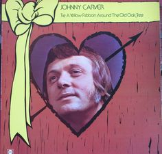 Johnny Carver, Tie A Yellow Ribbon Around the Ole Oak Tree, Vintage Record Album, Vinyl LP, Country Singer Songwriter, Obscure by VintageCoolRecords on Etsy