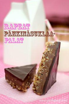 Pullahiiren leivontanurkka: Rapeat pähkinäsuklaapalat