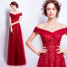 2017 Lace Full-length Wedding Dresses,Off the Shoulder Sequin Applique Charming Wedding Dresses,220010