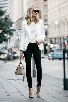 16 Casual and Classy Bussiness Outfits with High Heels
