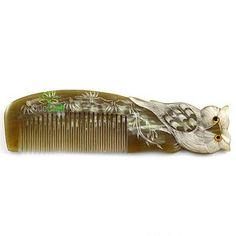 Horn Owl Hair Pin
