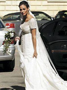 vestido de boda de ines sastre