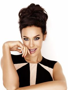 Megan Gale, Makeup by Rae Morris, for L'oreal Paris shot by David Gubert, Hair Brad Ngata