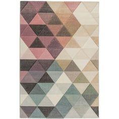 Dywan Gracja trójkąty 502388 80x150 - Castorama - Dywany