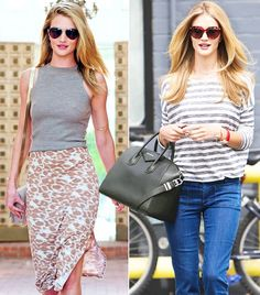 @Who What Wear - Rosie Huntington-Whiteley's Most Inspiring Looks