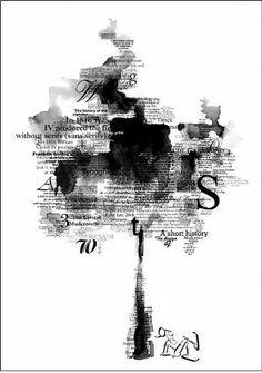 ilustracion tipografica