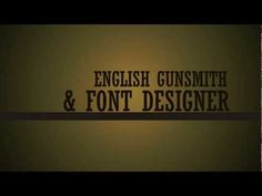 William Caslon Typography Animation